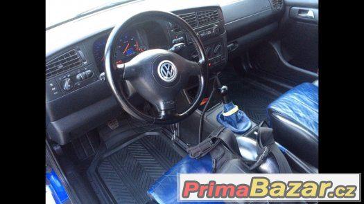 Vw golf 1,9tdi 81kw cabrio karmann prodej/vymena