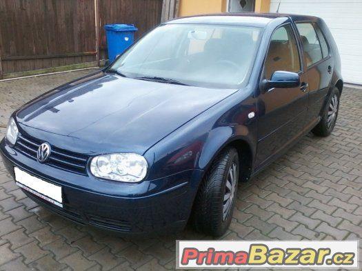VW Golf IV 1.9 TDI,5.dveř,2002,nová STK