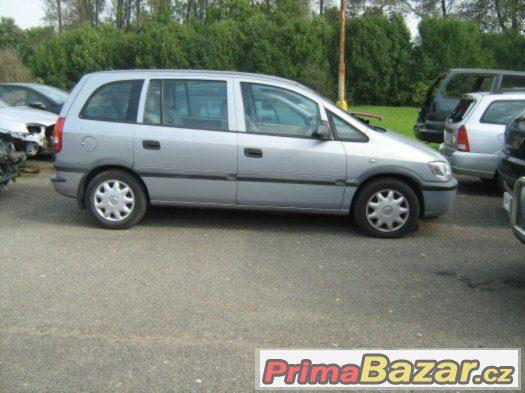 Opel Zafira 1,6 16V 2001