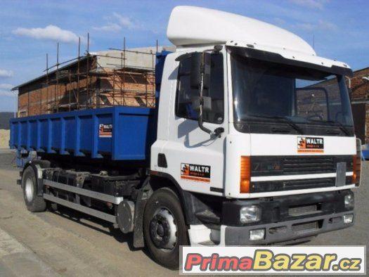 DAF Cargo van kontejner - NOVÁ NÁSTAVBA