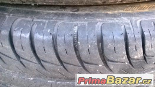 sada plechových disků 5 ks s pneu octavia 1