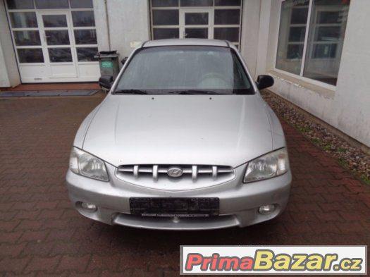 Hyundai Accent rv2002 až 2005