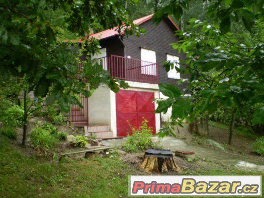 Pronajmu chatu k rekreaci Penčice severní Morava okr. Přerov