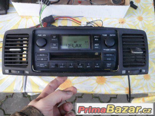 Auto radio z TOYOTA 58816