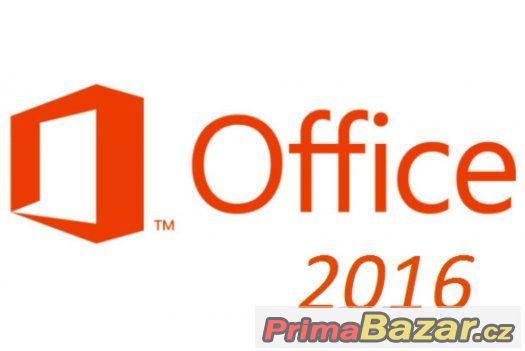 Windows Office 2016 Professional - CZ - 1kus