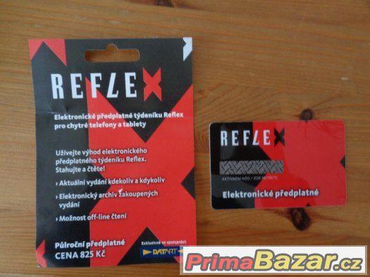 Reflex - elektronické předplatné