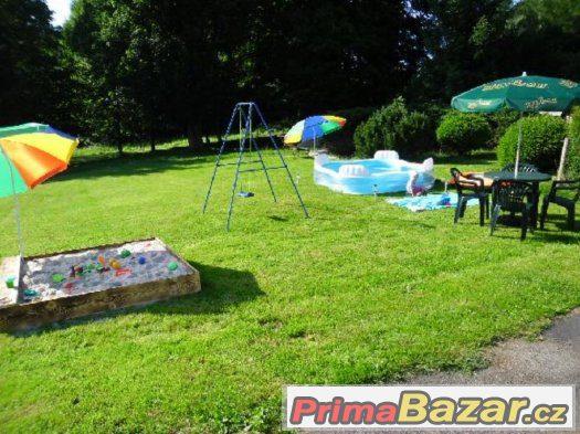 letní dovolená v chatě SMARAGD na Přimdě český les