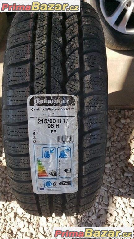 1xnova pneu Continental conti WinterContact 4x4 215/60 r17 96H dot2013