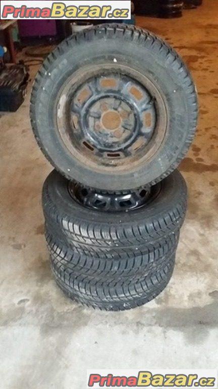 Plechové disky 4x98 pneu 165/70 r13 79R