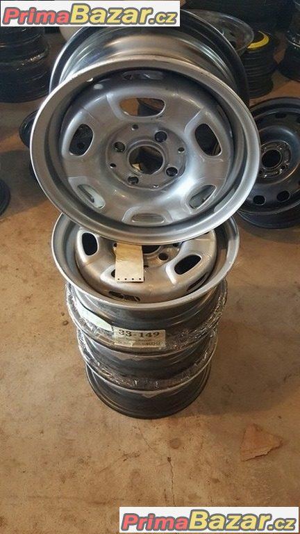 Nové ,nepoužité Plechove disky  VW 4x100 5.5jx13 et38 c.d.321601025J/N