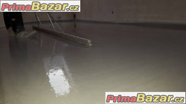 Anhydritová litá podlaha