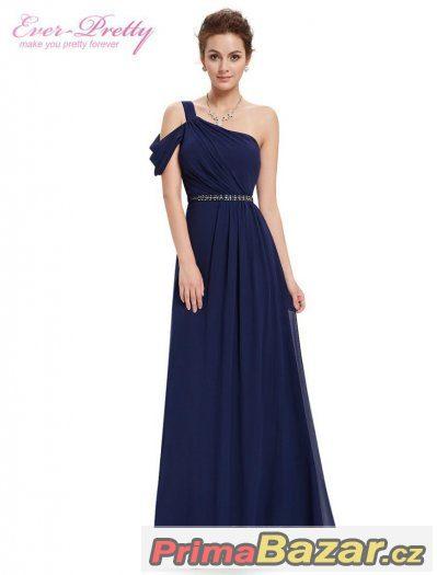 70e97ebf9374 Modré plesové   společenské šaty Ever Pretty