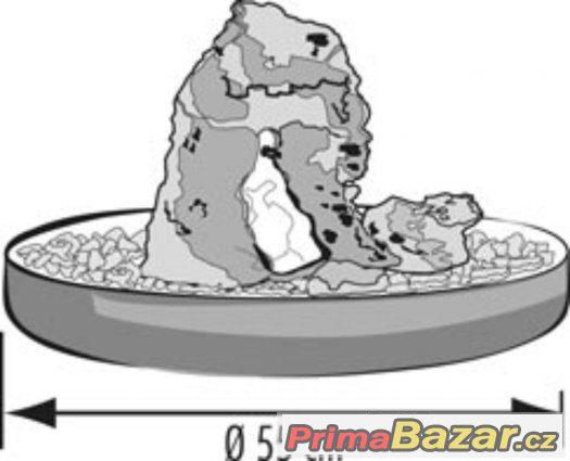 Zvlhčovač - fontána s lávovým kamenem