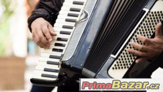 Výuka hry na akordeon (harmonika)