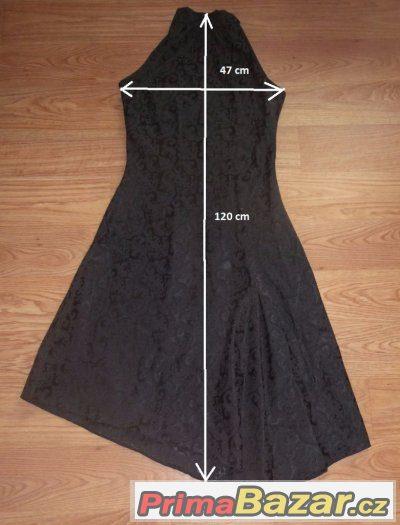 dea59b63573b Prodám 2 ks - šaty a kabátek vel. 38-40