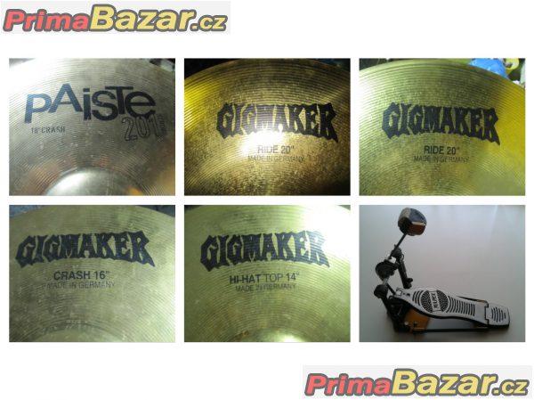 """Prodám bicí soupravu Mapex M Birch Rock """"24"""" (Black Forest Sapphire)"""