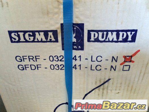 Sigma Čerpadlo GFRF-032-41-LC-N 230V nové