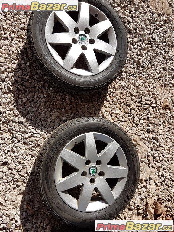 sada Škoda Octavia 3U0601025C 5x112 6jx16 et37