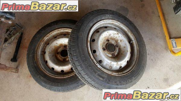 4x plechove disky Citroen,Peugeot 4x108 5.5jx14 et24
