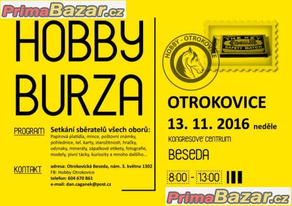 HOBBY BURZA OTROKOVICE, 13.11.2016