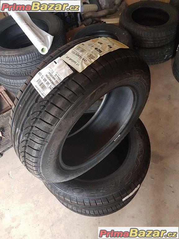 4xnové nepoužité pneu Dunlop SP Sport 01 185/60 r15 84T 14