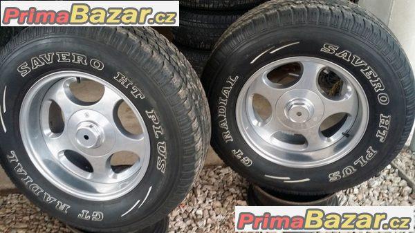 Excentric USA offroad 6x139.7   et 0  pneu GT Savero HT Plus 265/70 r17 113T