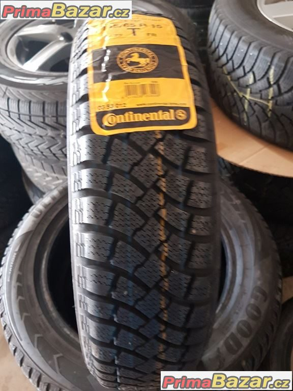 1x nová pneu na  Smarty Continental conti Winter Contact 145/65 r15 72T