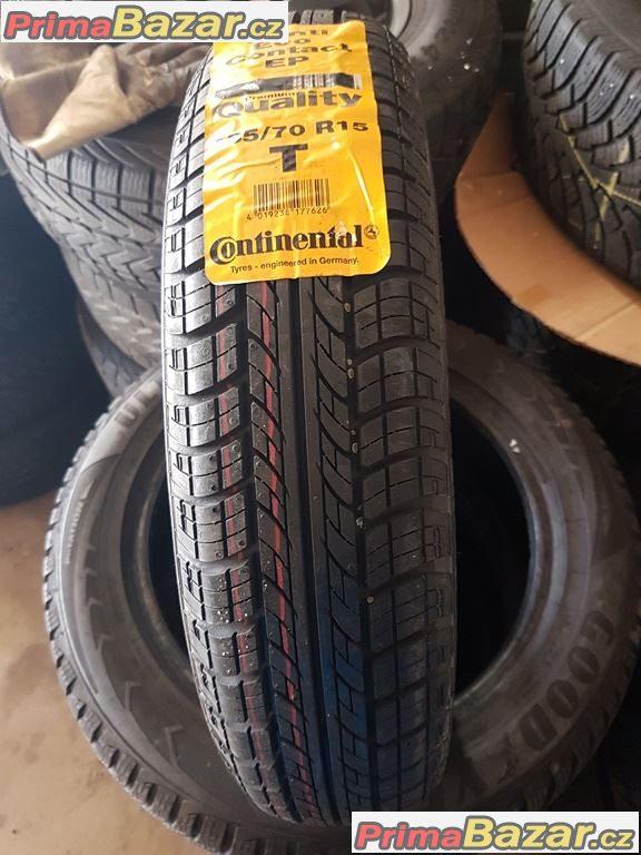 1x pneu nova letni na Smarta Continental conti EcoContact ep 135/70 r15