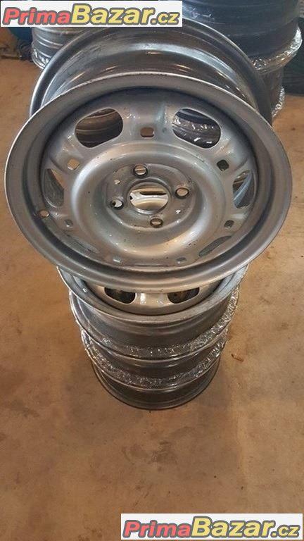 Nové, nepoužité Plechove disky  VW 4x100 5.5jx14H2 et38