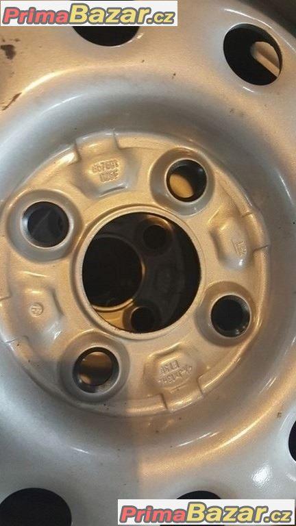 Nové, nepoužité Plechove disky  VW 4x100 4.5jx13H2 et35