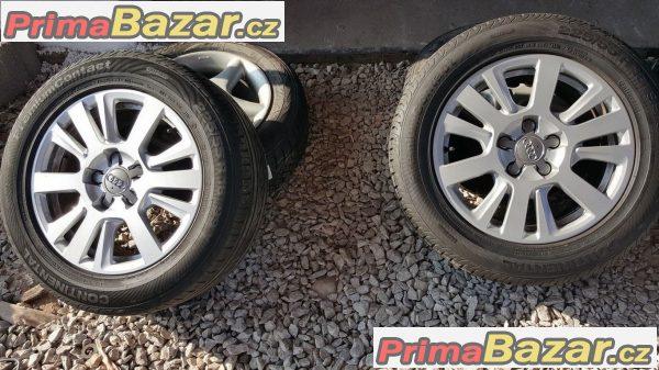 Audi 4F0601025AC letni 2x90 a 2x50% vzorek 5x112 7.5jx16 et45