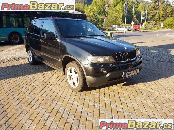 Bmw X5 3.0D 160kW po faceliftu r.2004