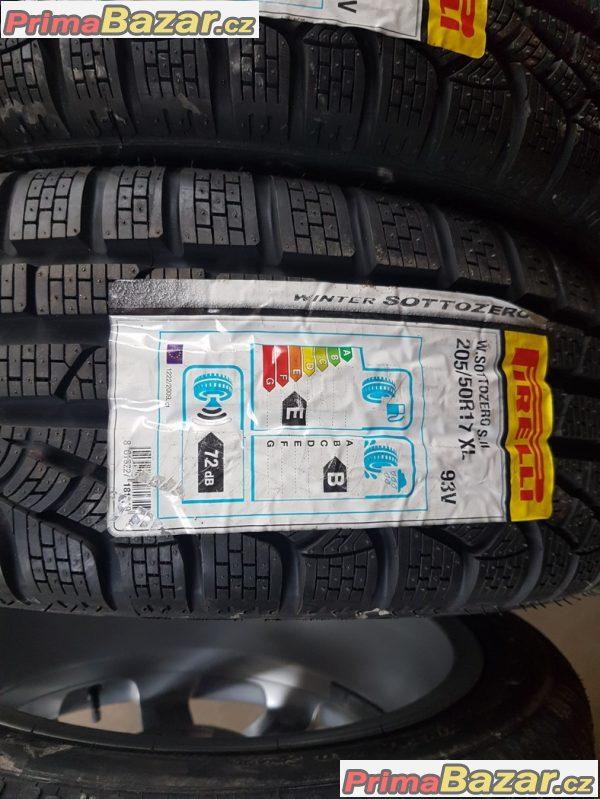 nové pneu Pirelli Sottozero 205/50 r17 93V 13