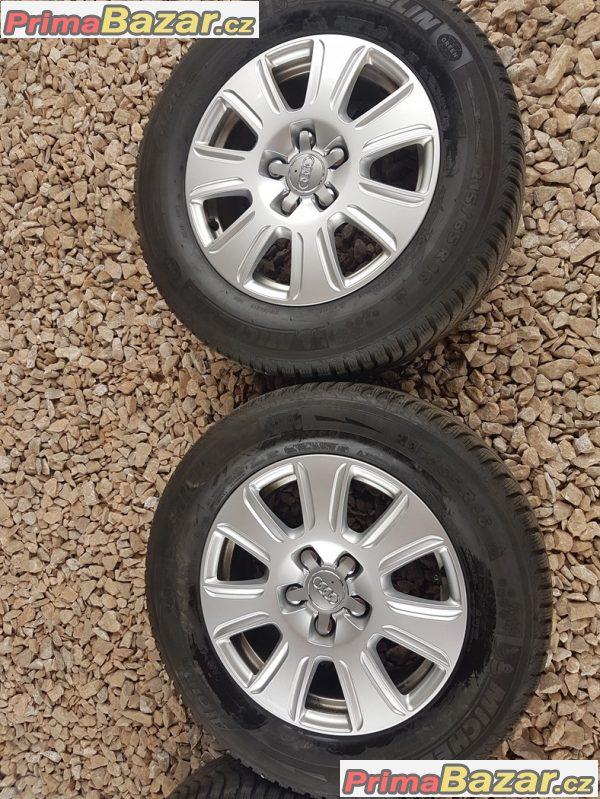 sada Audi 8U0601025Q 5x112 6.5jx16 et33 pneu dot3015