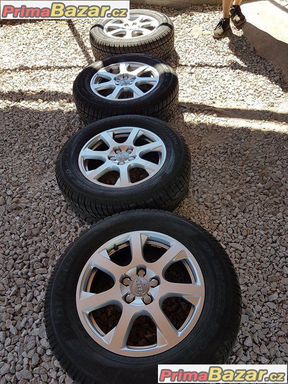 zánovní sada Audi 8R0601025E 5x112 7jx17 et37 pneu dot0115
