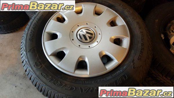 Plechove disky VW s poklicema VW 1K0601027 5x112 6jx15 et47