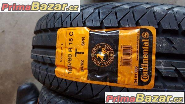 4x nove pneu Continental Vanco Contact 2 185/60 r15C 94/92T 11
