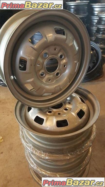 Nové, nepoužité Plechove  disky VW 4x100 4.5jx13 et50