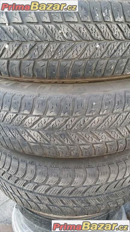Plechove disky  4x98 pneu Sava 165/65 r14