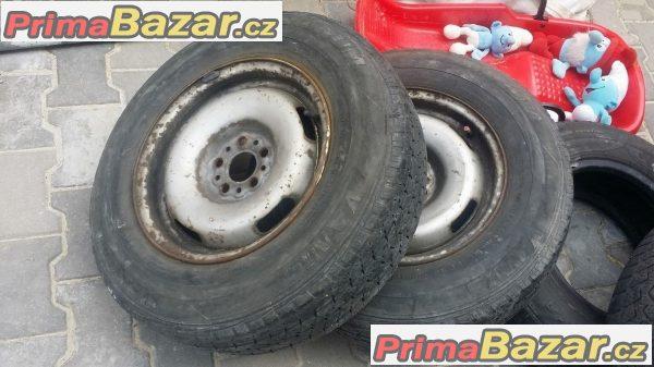 Plechove disky 5dira pneu 70 % Ba