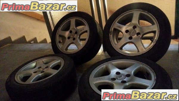 CMS 4x100 7Jx15 et37 pneu Goo