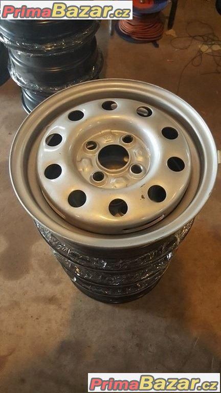 Nové, nepoužité Plechove disky  VW 4x100 4.5jx13 et38