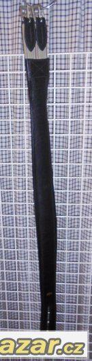 Podbřišník kožený Kentaur s gumou 120 cm černý Nový
