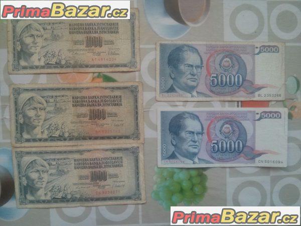 Prodám staré mince a bankovky Československo, protektorát...a daší