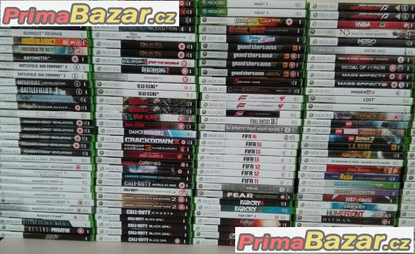 Xbox 360 hry