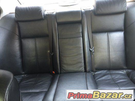 Kožený interier BMW E38, E39 černá, béžová, šedá