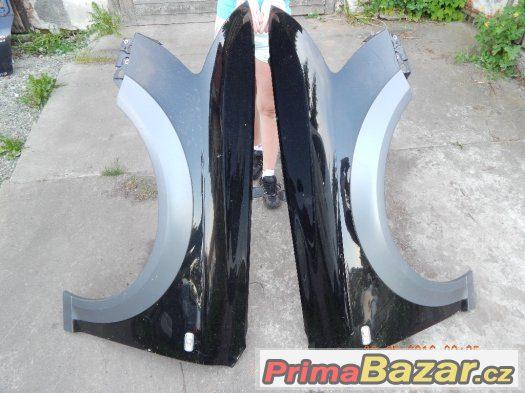 blatniki AUDI A6 C6 ALROAD- levy a pravy- cerna metaliza