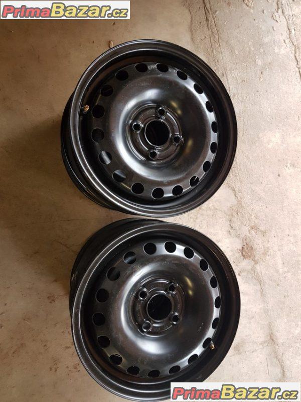 nové Plechove disky VW 1S060027 4x100 5jx14 et35 stred 57.1