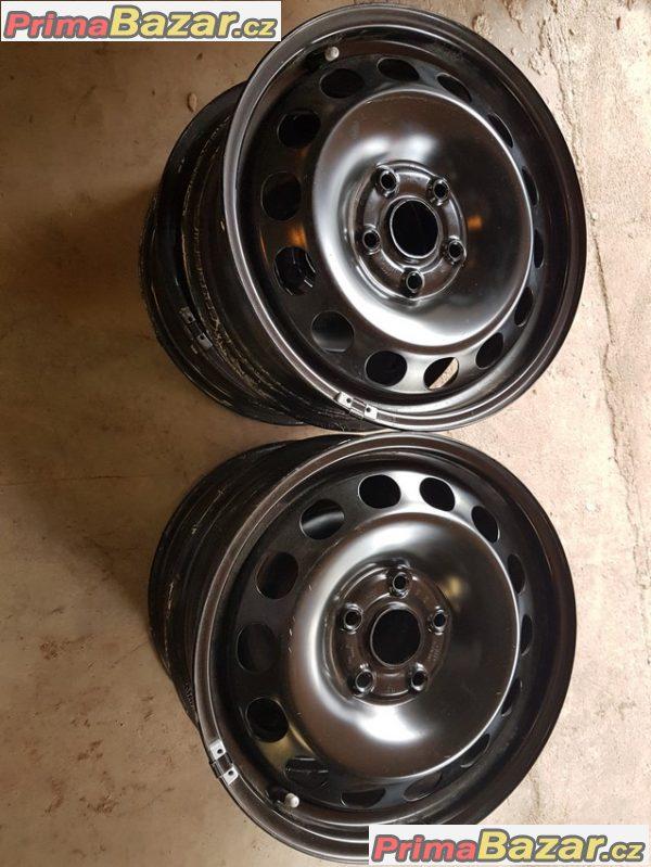 zánovní Plechove disky VW Audi 8P0601027 5x112 6jx16 et50 stred 57.1