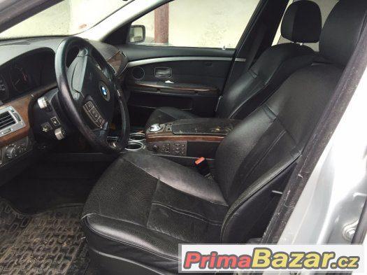 Kožený interier BMW E65 7er